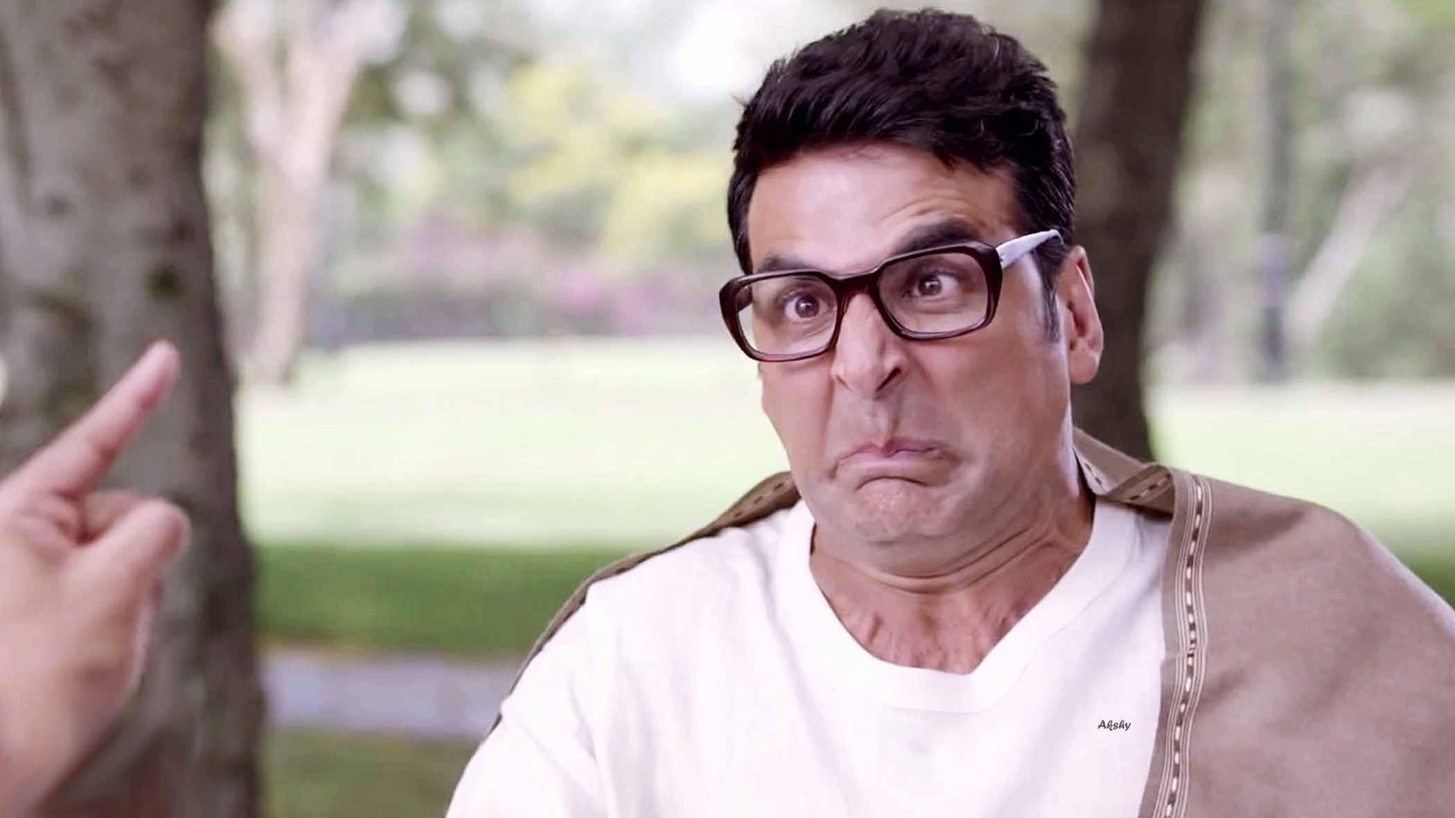 Akshay Kumar Funny Face